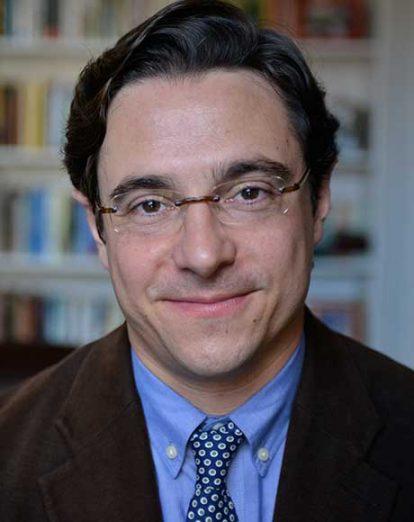 Portrait of Northeastern University professor Dov Waxman