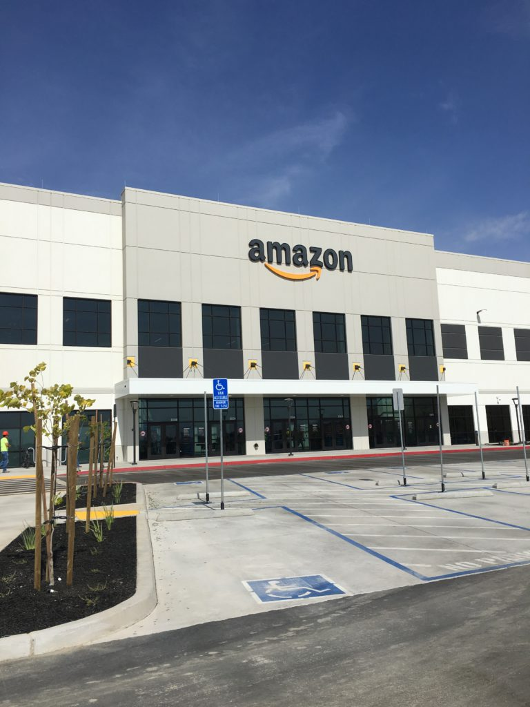 Amazon fulfillment center in Fresno