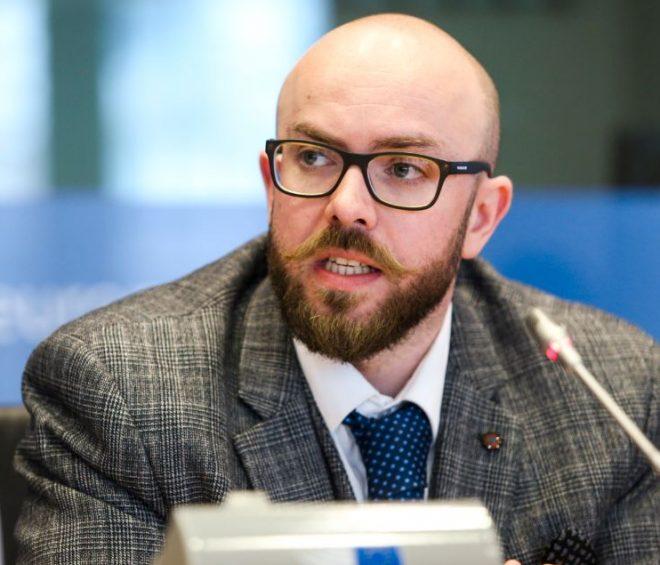 Portrait of Lancaster University international relations lecturer Simon Mabon