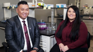 Married pharmacy school graduates Edwin Thao and Kang Yang