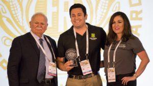 Photo of the Fred Ruiz Entrepreneurial Award winners, Tioga Sequoia Brewery