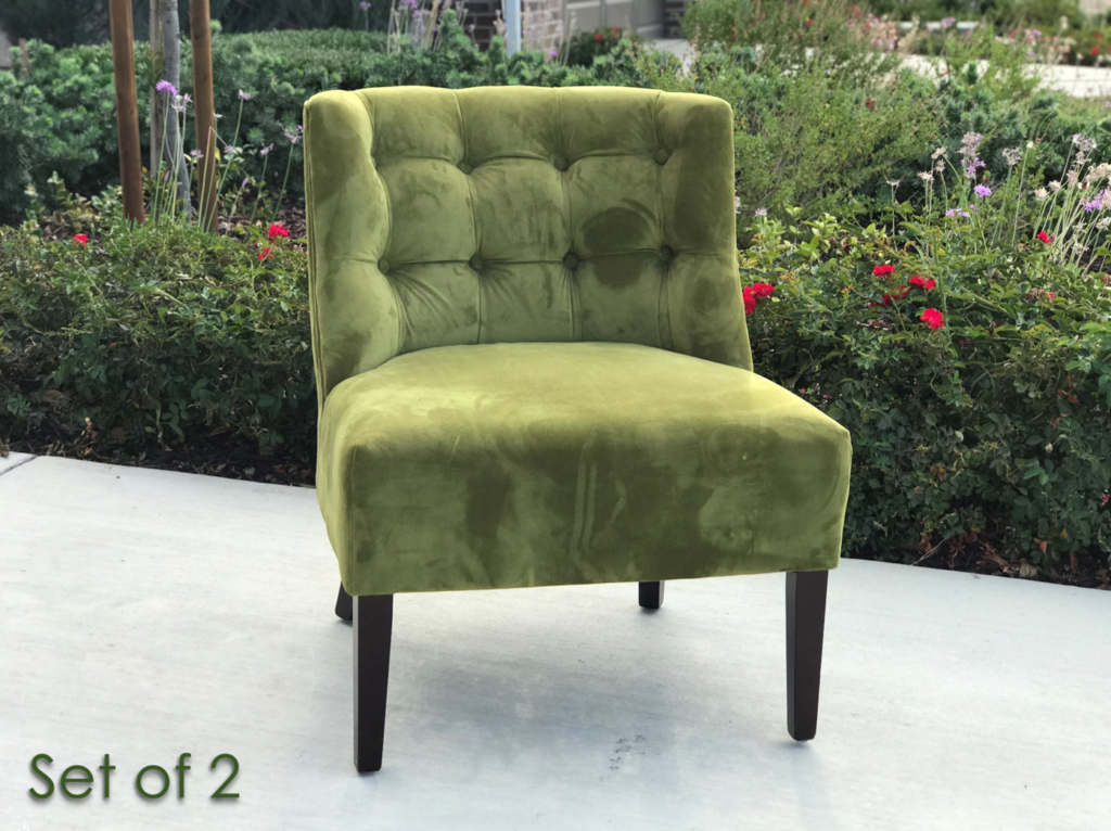 Photo of a green chair