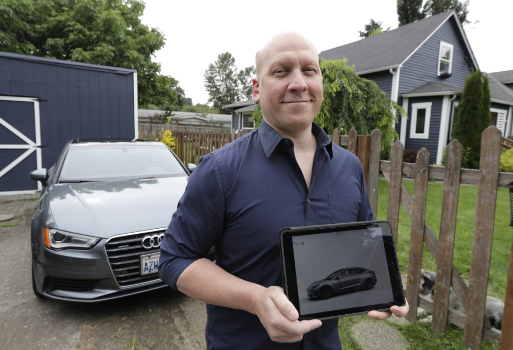 Photo of Christian Kingery and his Audi