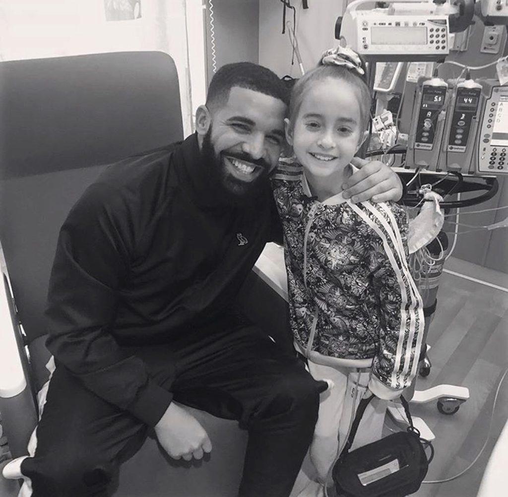 Photo of Sofia Sanchez and rapper Drake