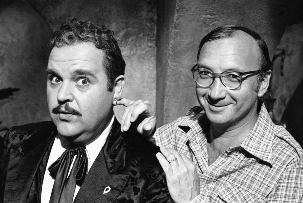 Photo of playwright Neil Simon and actor Dom DeLuise