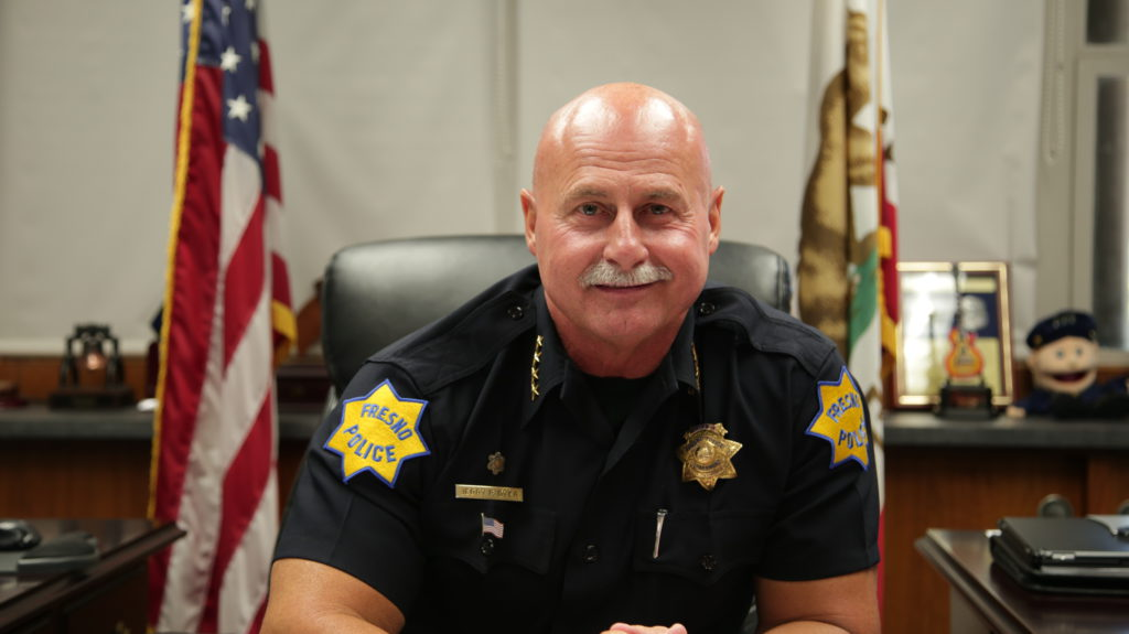 Photo of Fresno Police Chief Jerry Dyer