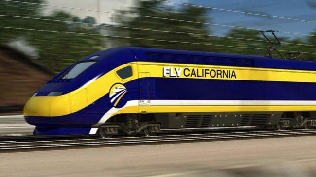 Photo California high speed rail engine