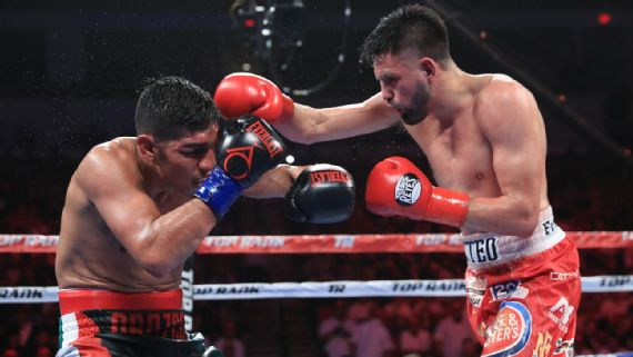 Photo of Jose Ramirez in his title fight vs. Antonio Orozco