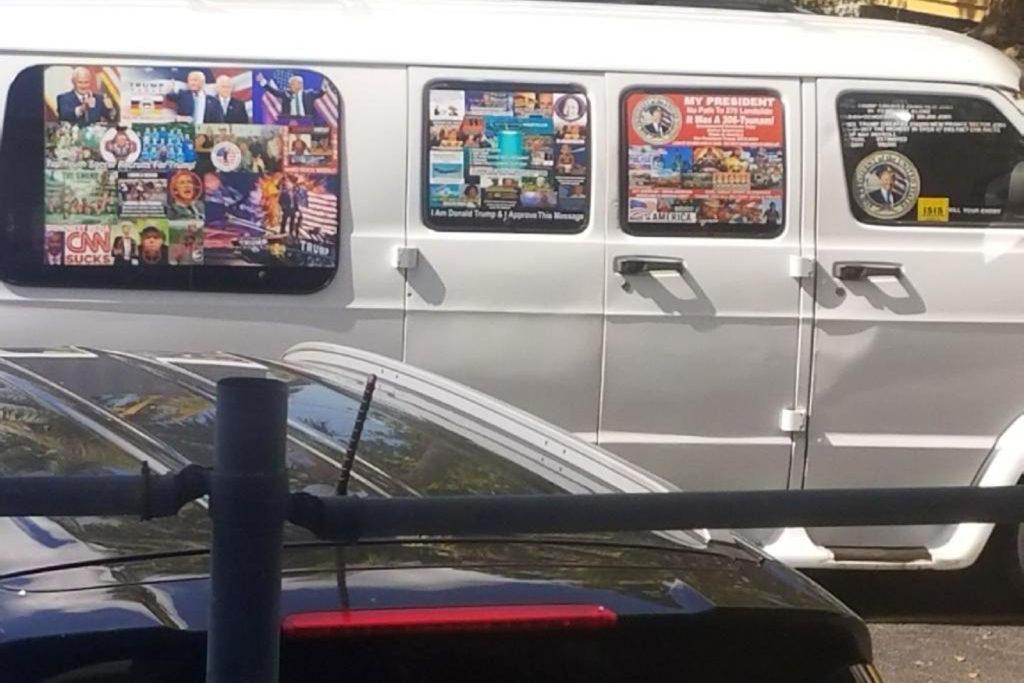 Photo of Sayoc's van
