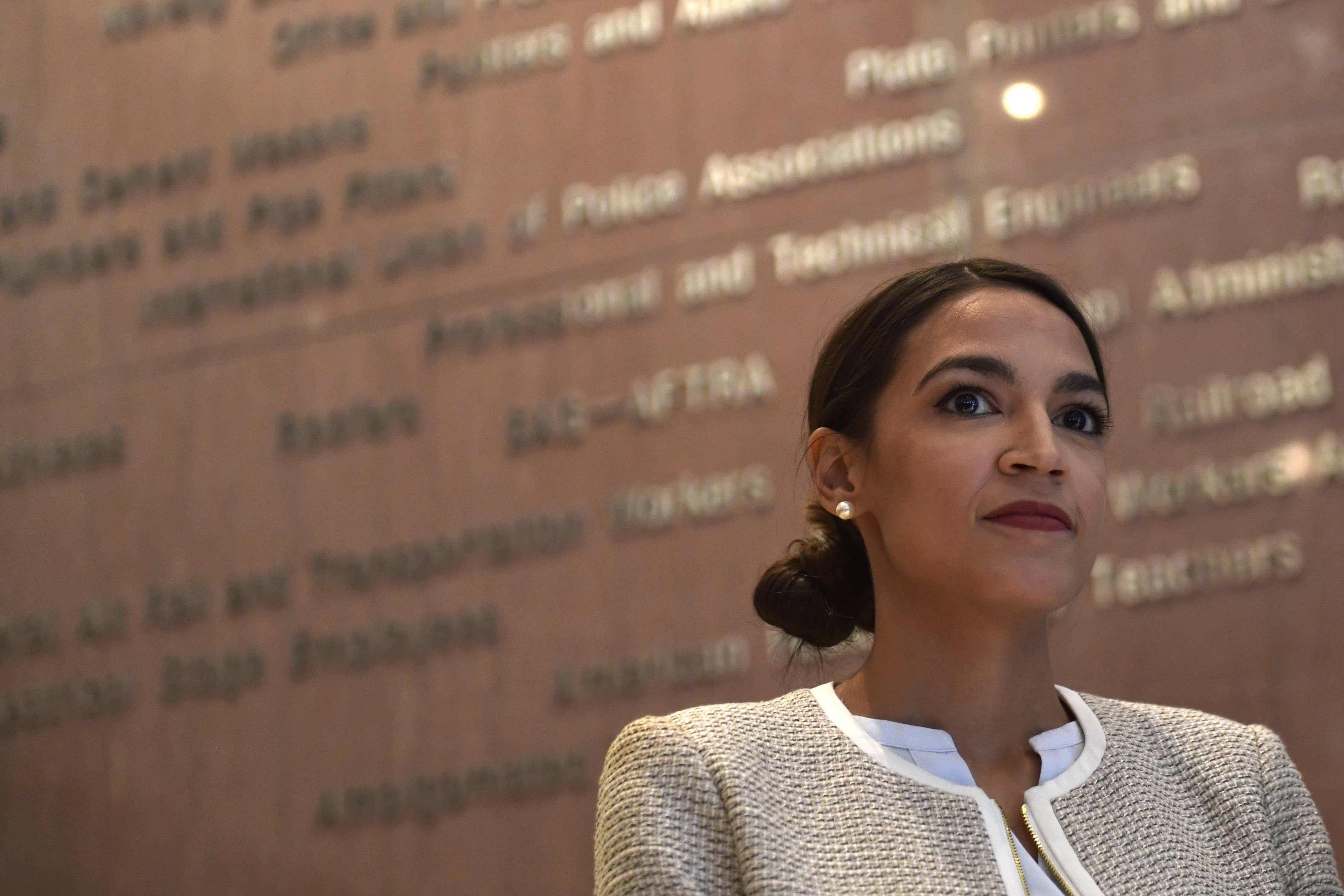 Photo of Rep.-elect Alexandria Ocasio-Cortez