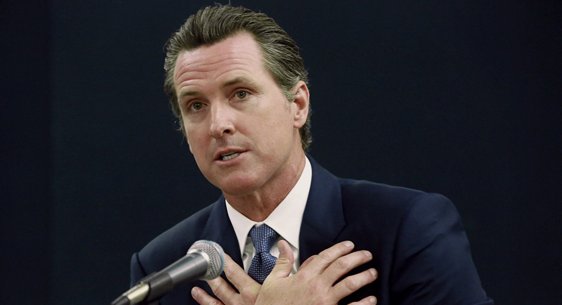 Portrait of Gavin Newsom