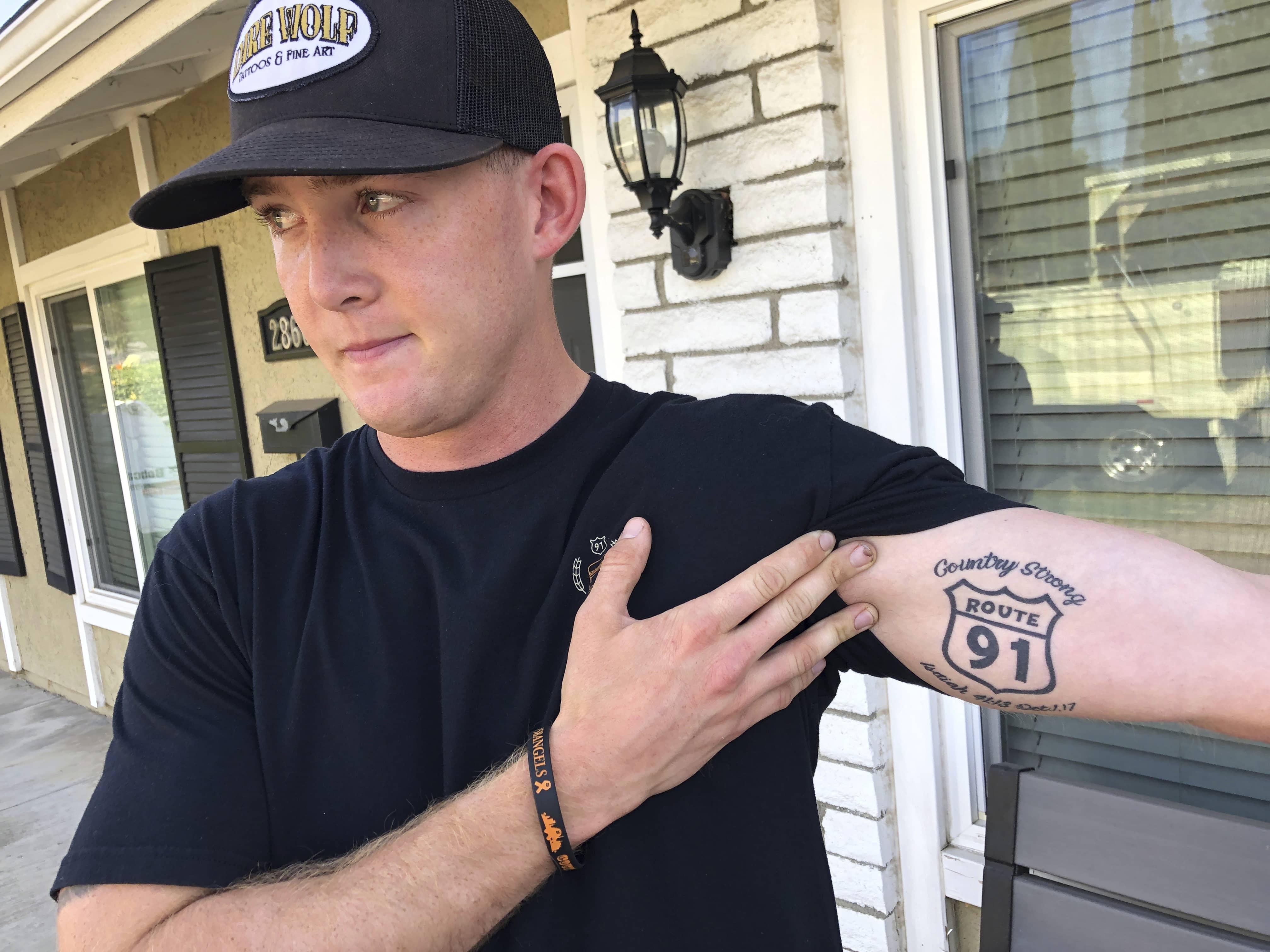 Photo of Brendan Kelly, a survivor of both the Las Vegas and Thousand Oaks mass shooting