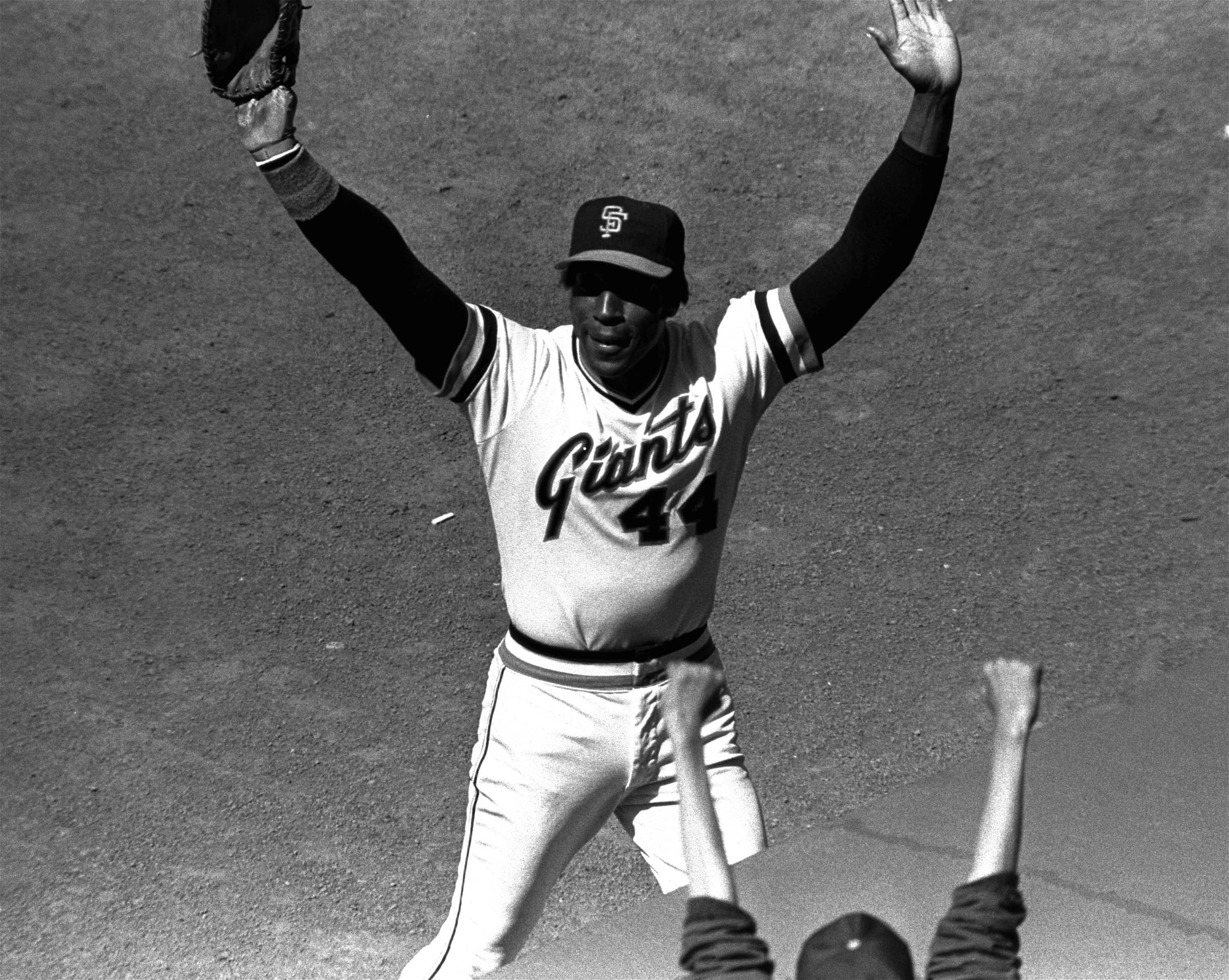 Photo of Willie McCovey in 1980