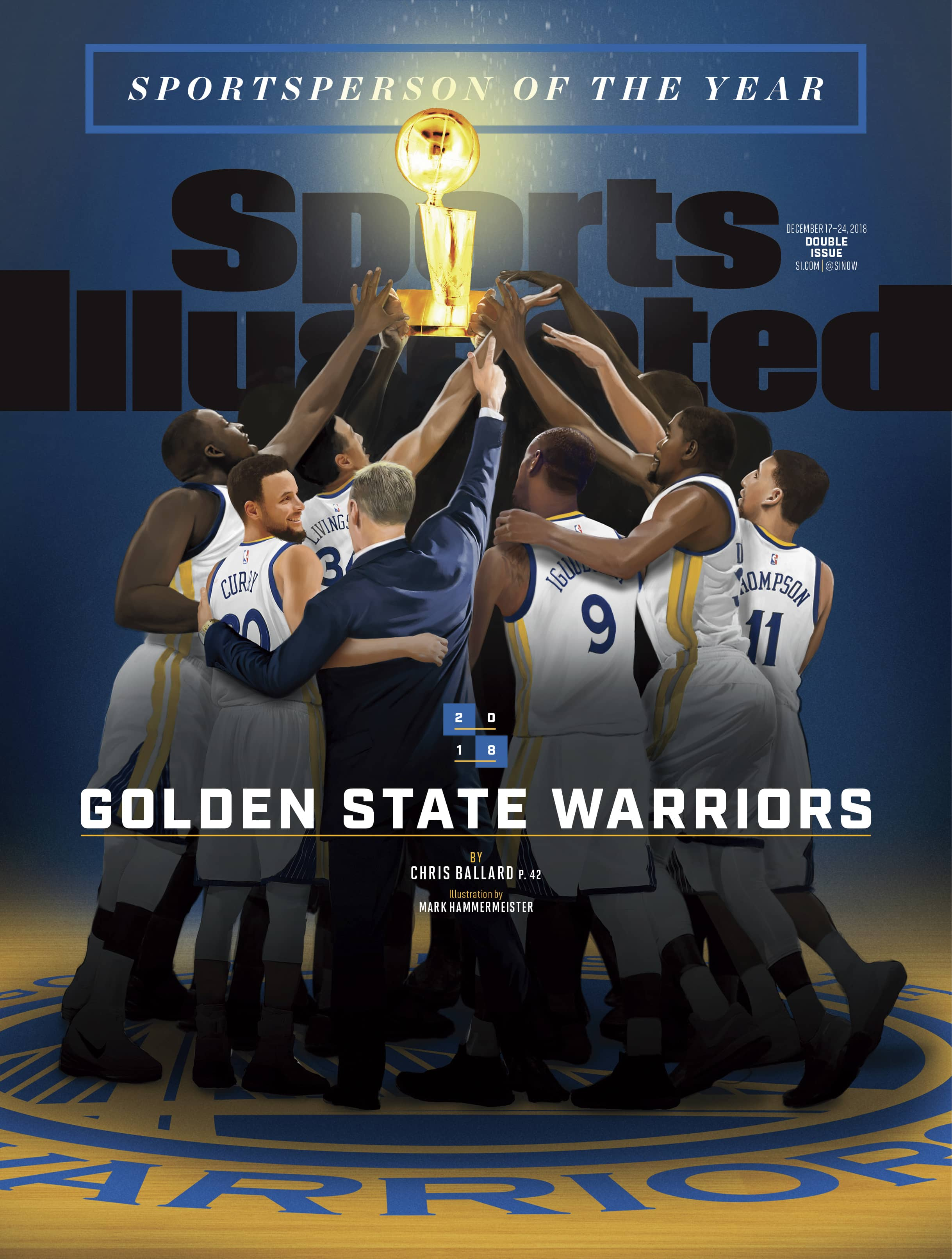 Photo of Sports Illustrated cover