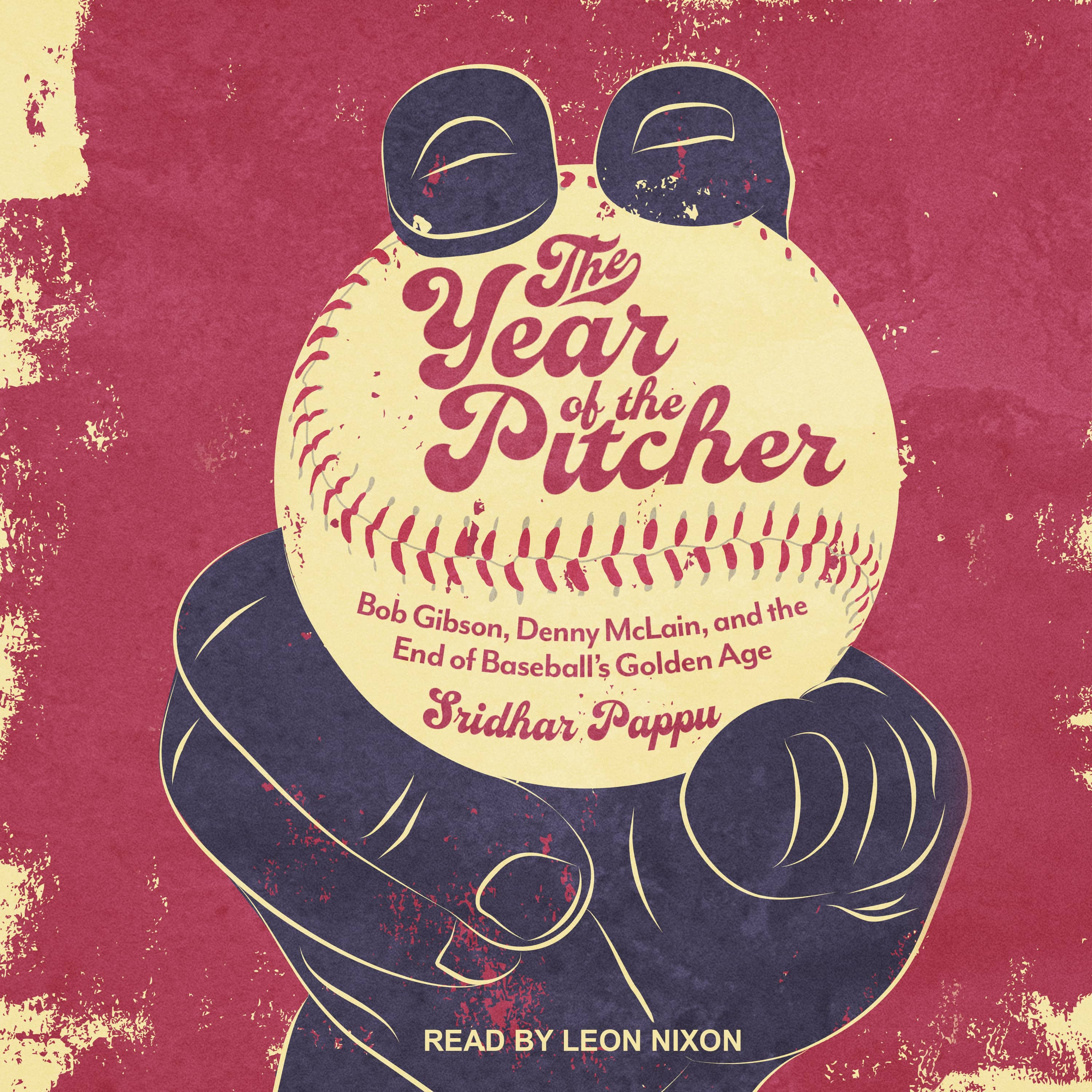 "Photo of the book cover for ""The Year of the Pitcher: Bob Gibson, Denny McLain, and the End of Baseball's Golden Age"""
