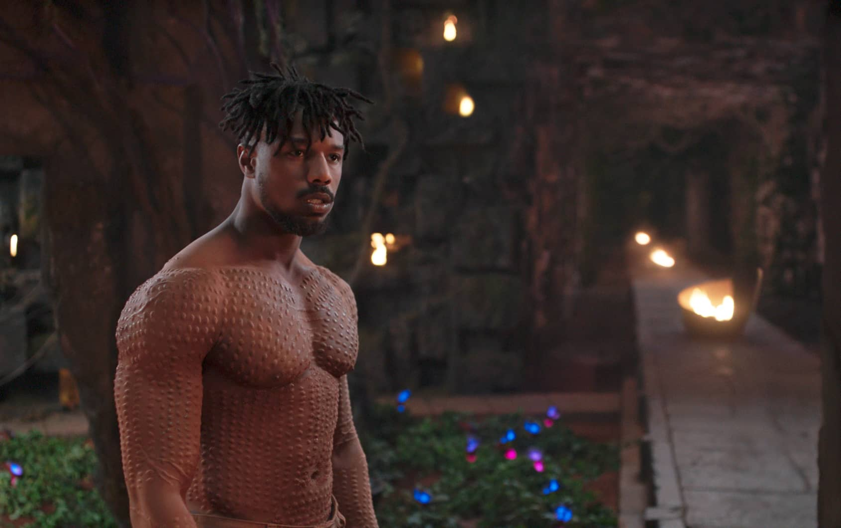 Photo of Michael B. Jordan in Black Panther
