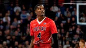 Photo of Fresno State guard Braxton Huggins