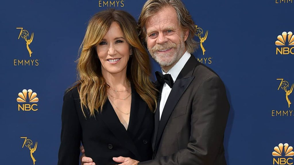 Photo of Felicity Huffman and William H. Macy