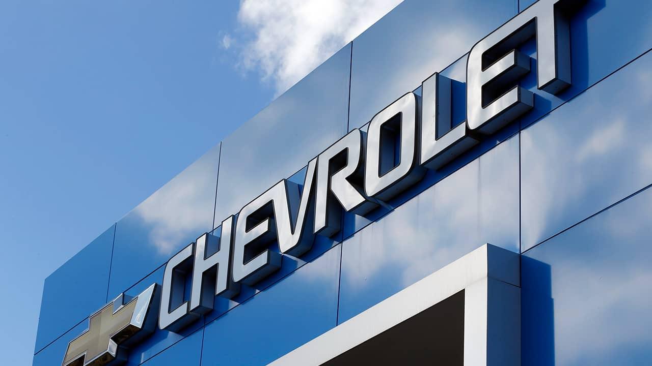 Photo of Chevrolet sign in Richmond, Virginia