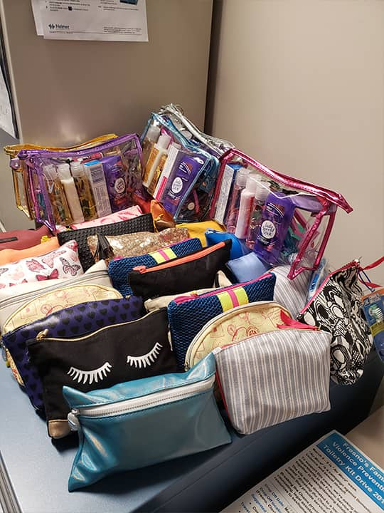 Photo of toiletry bags