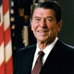 Official White House portrait of President Ronald Reagan