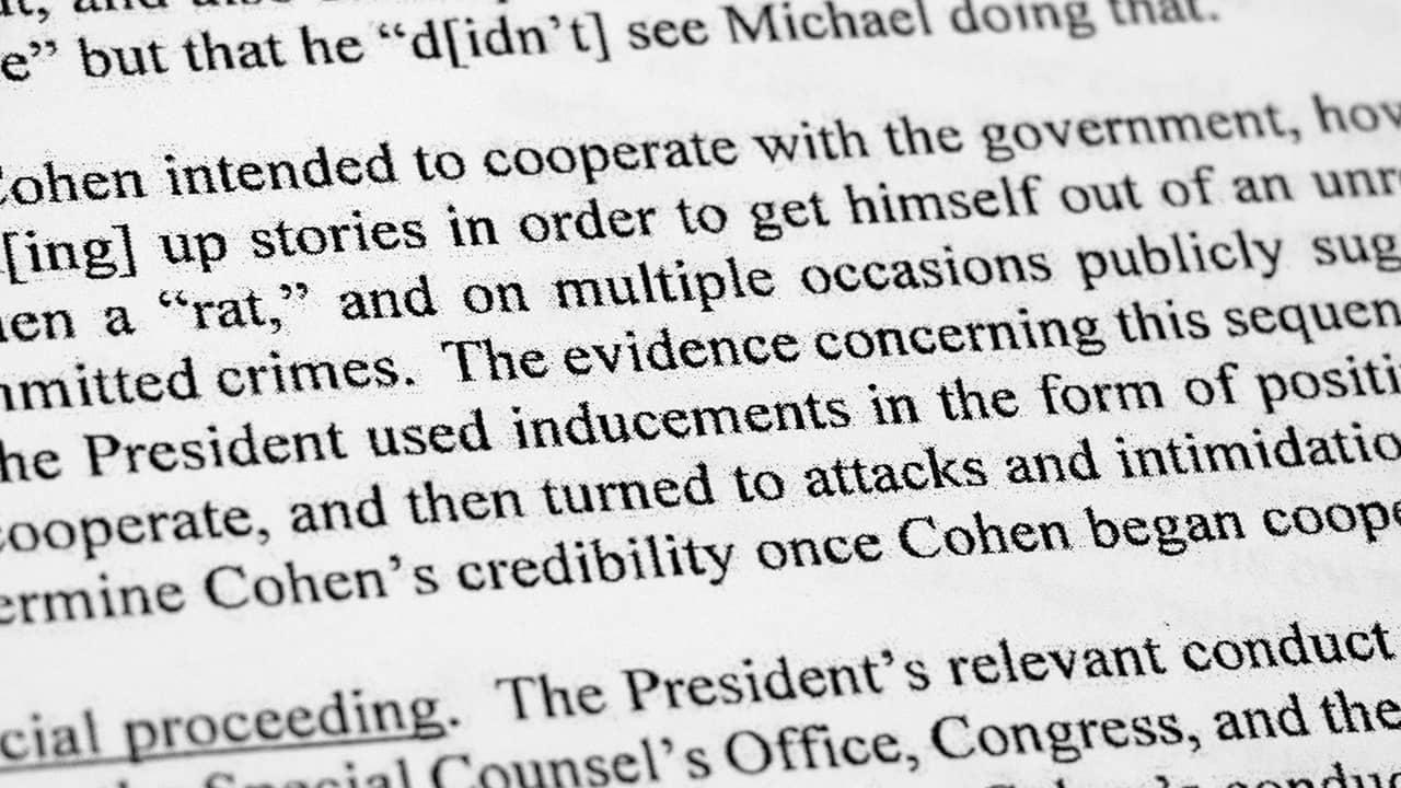 Photo of Mueller Report