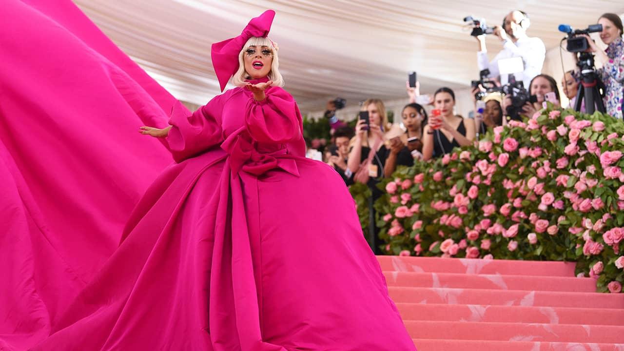 Photo of Lady Gaga at the 2019 Met Gala