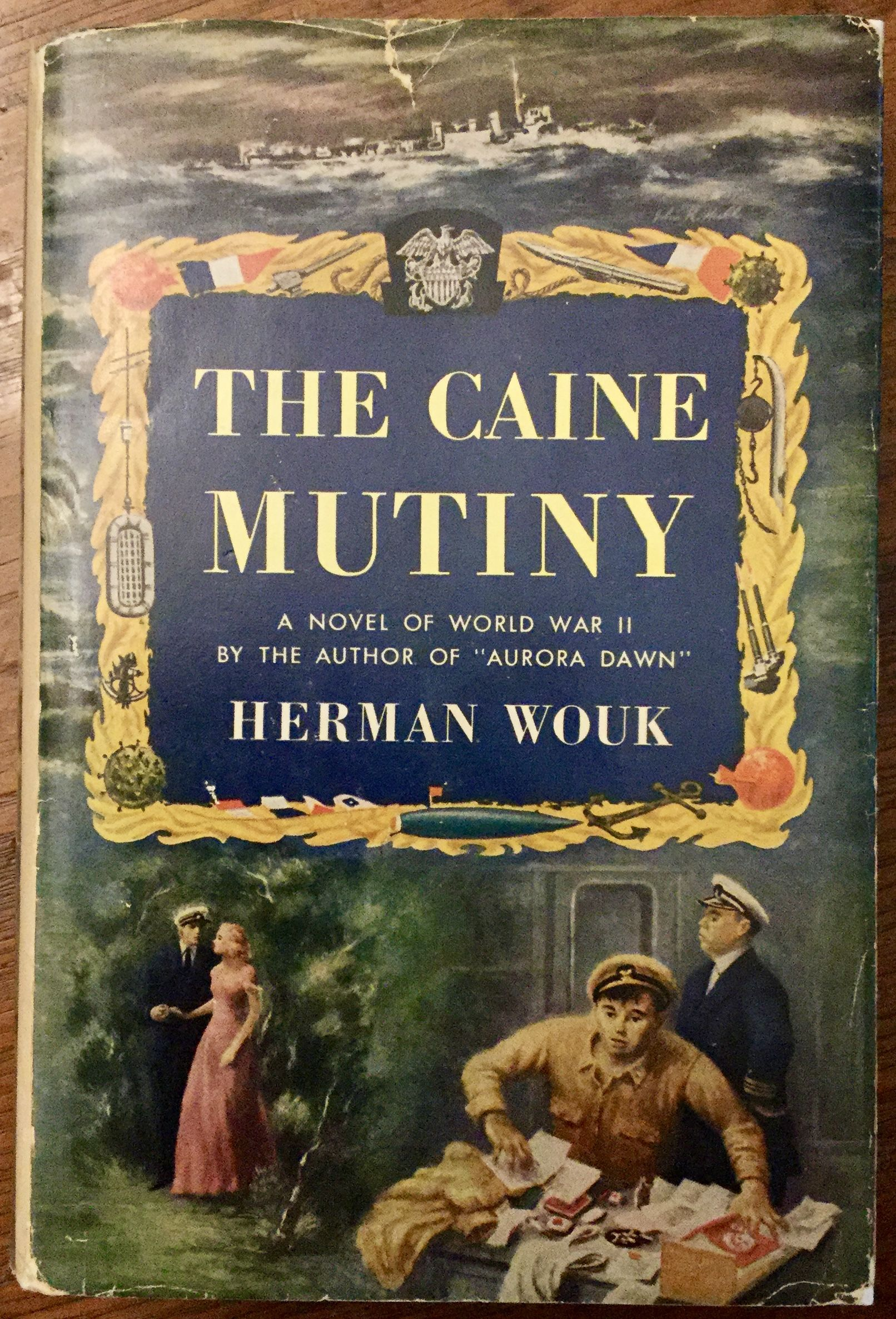 The Caine Mutiny book cover