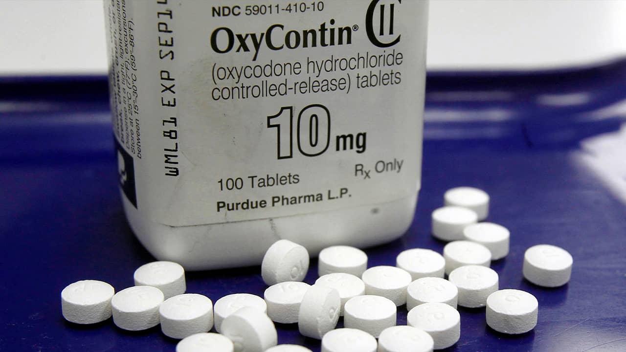 Photo of OxyContin pills