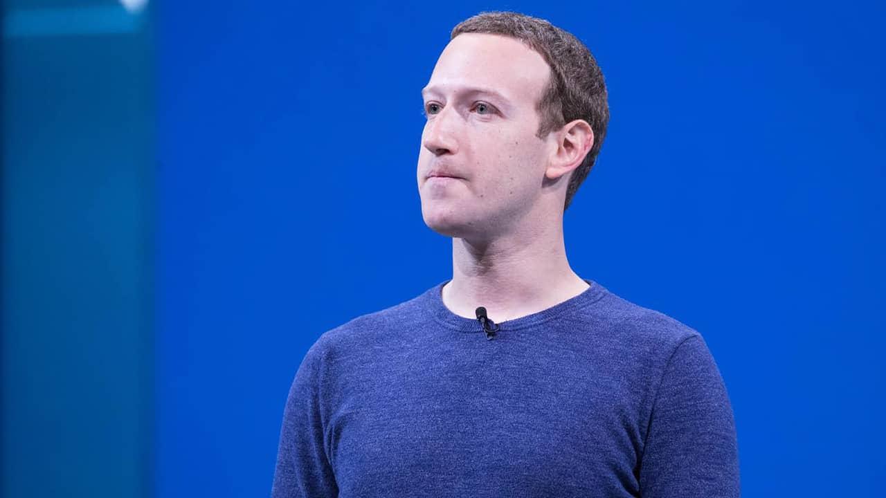 Photo of Facebook CEO Mark Zuckerberg
