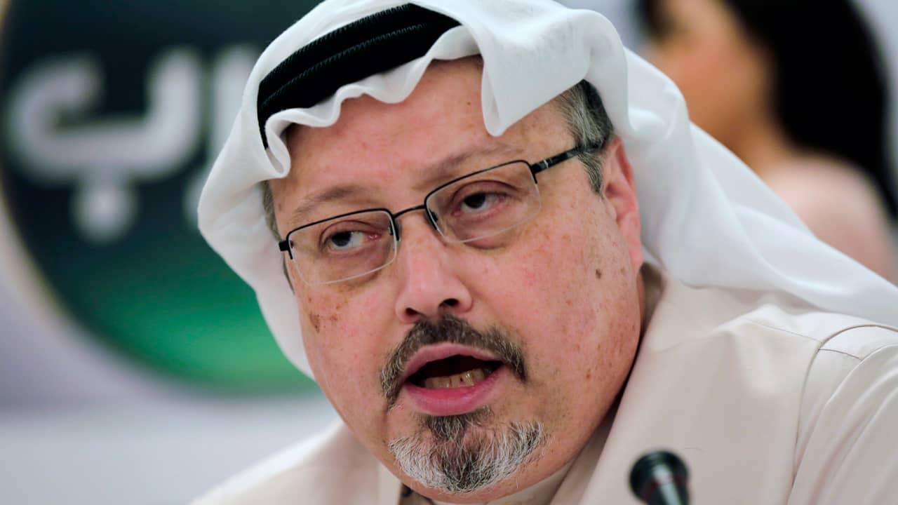 Photo of Saudi journalist Jamal Khashoggi