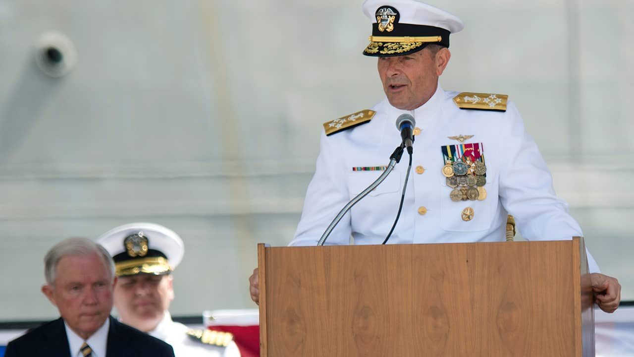 Photo of Adm. William Moran