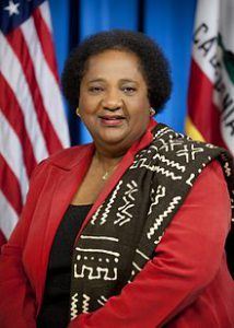 Portrait of Assemblywoman Shirley Weber