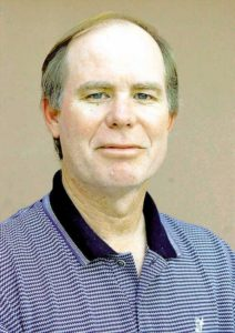 Portrait of AP sports columnist Tim Dahlberg