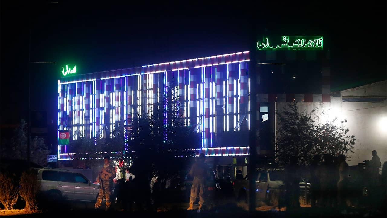Photo of wedding hall in Kabul