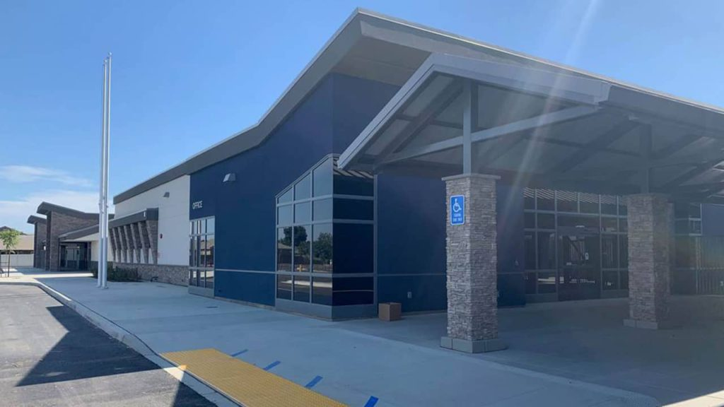 Photo of the newest Visalia Unified campus, Denton Elementary Schoole