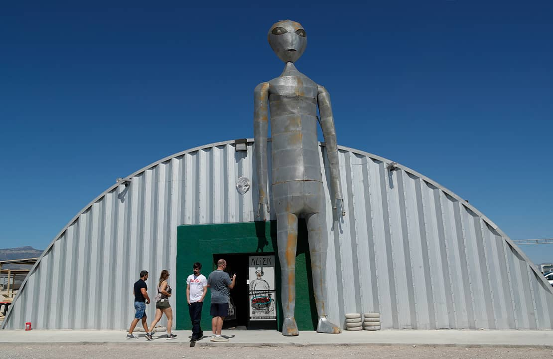 Photo of Alien Research Center in Hiko, Nev.