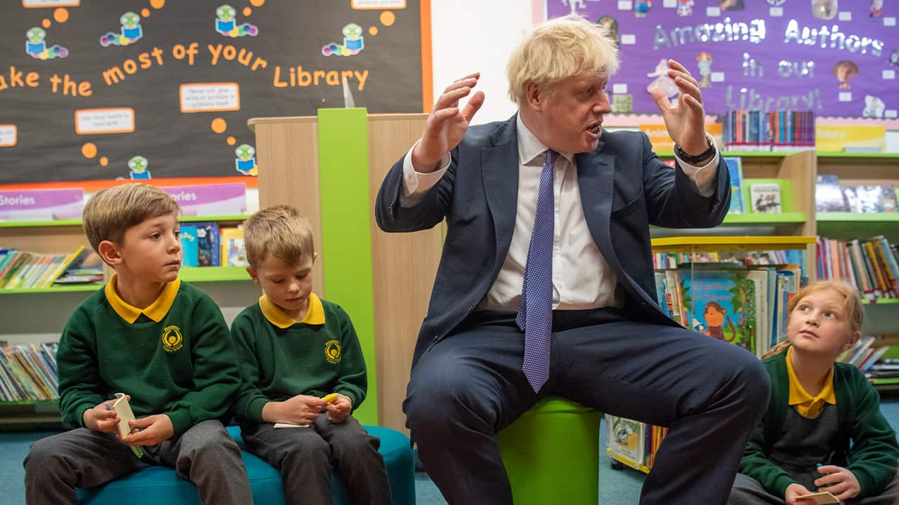 Photo of Prime Minister Boris Johnson