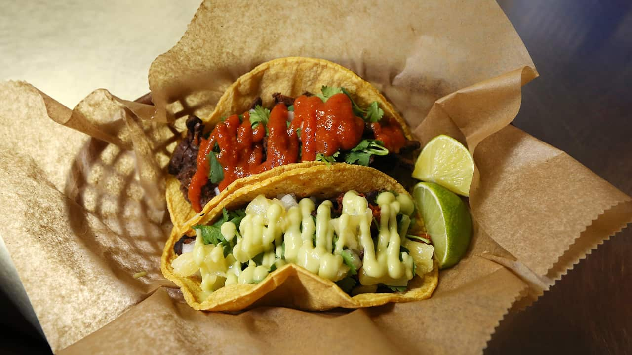 Photo of vegan tacos