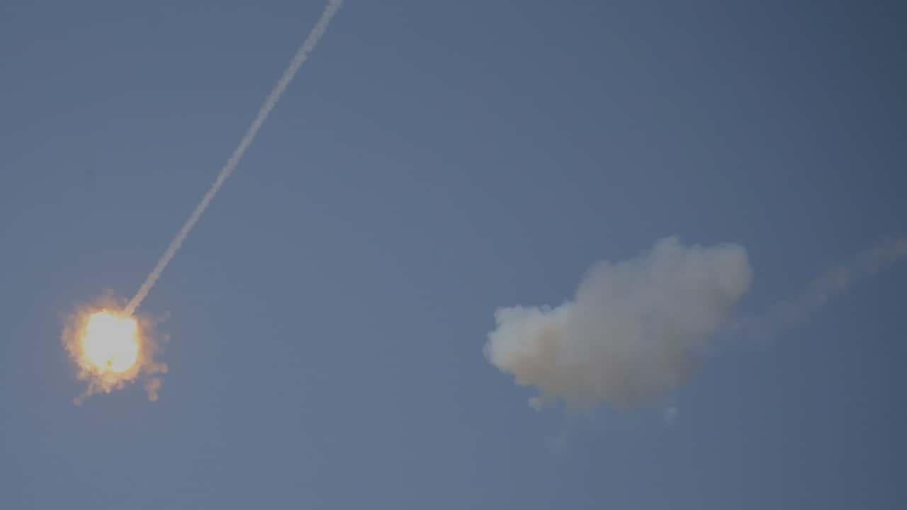 Photo of Israeli missile