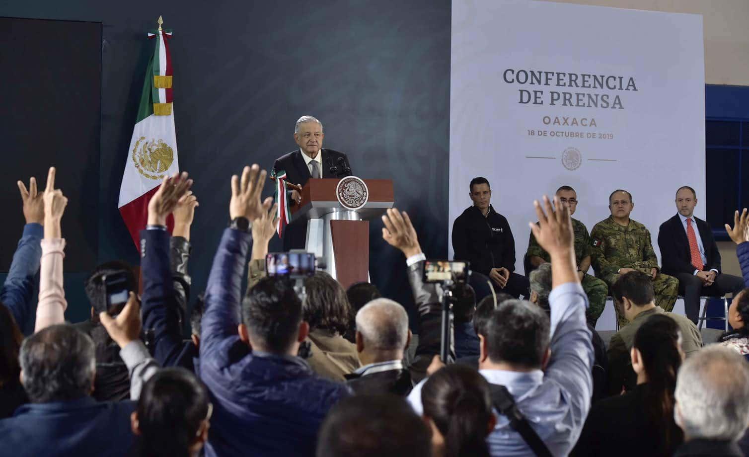 Photo of President Andrés Manuel López Obrador