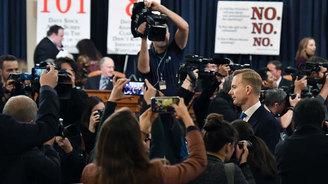 Photo of David Holmes, a U.S. diplomat in Ukraine