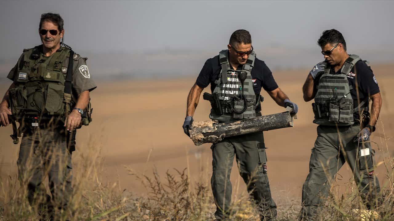 Photo of Israeli police sappers