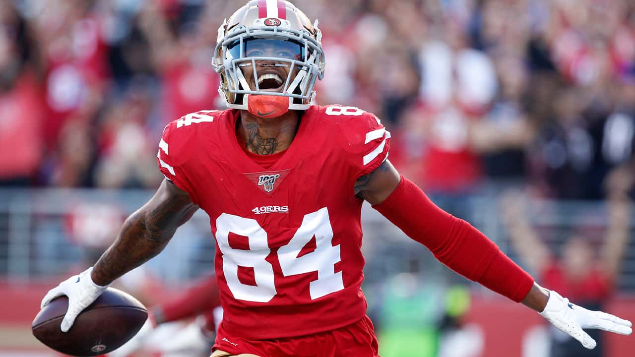 Photo of San Francisco 49ers wide receiver Kendrick Bourne