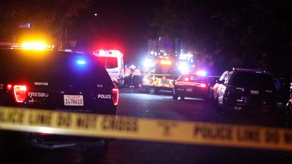 Photo of Fresno mass shooting scene