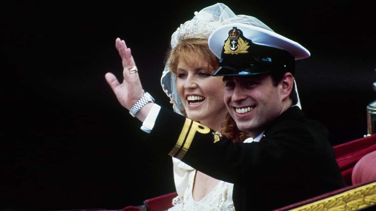 Photo of Prince Andrew and his wife Sarah