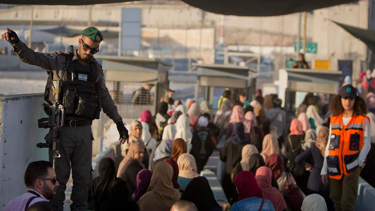 Photo of Palestinians during Ramadan