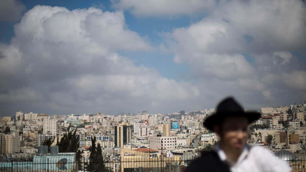 Photo of West Bank city of Hebron