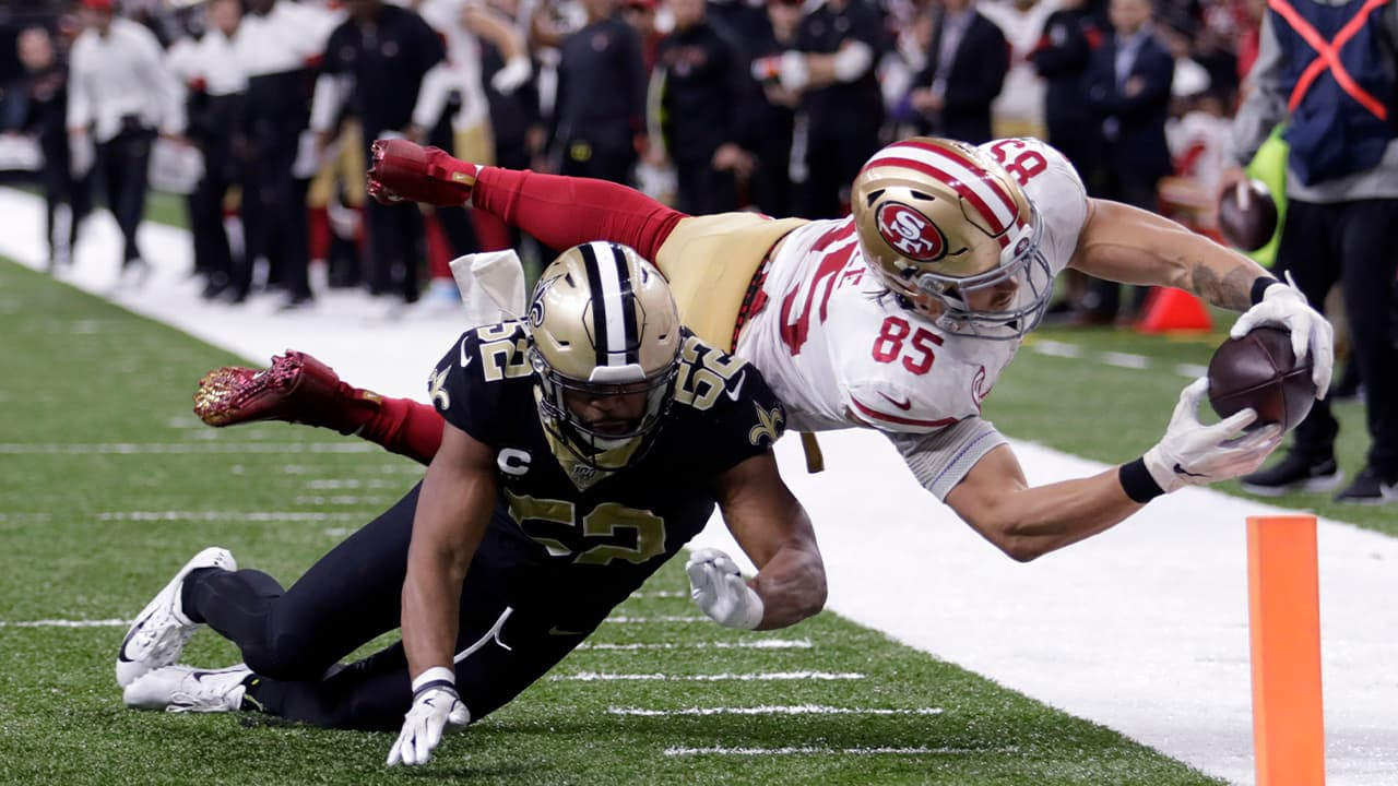 Photo of San Francisco 49ers tight end George Kittle