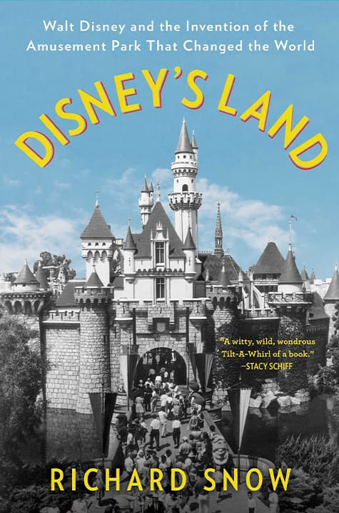 """Photo of the cover of """"Disney's Land"""""""